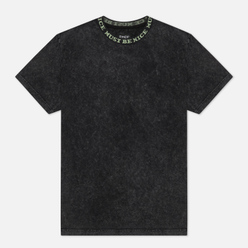 Мужская футболка RIPNDIP MBN Jacquard Rib Black Mineral Wash