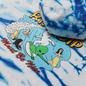 Мужская толстовка RIPNDIP Hang Ten Hoodie Baby Blue Stripe Wash фото - 2