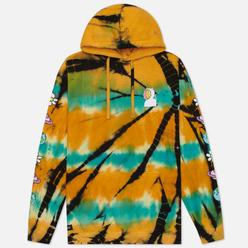 Мужская толстовка RIPNDIP Open Minded Hoodie Orange/Blue Sunburst Dye