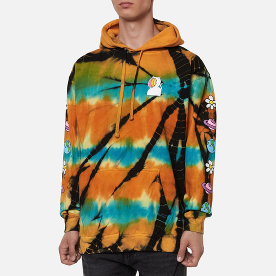 Мужская толстовка RIPNDIP Open Minded Hoodie Orange/Blue Sunburst Dye