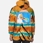 Мужская толстовка RIPNDIP Open Minded Hoodie Orange/Blue Sunburst Dye фото - 4