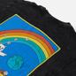 Мужская футболка RIPNDIP Earthgazing Black Mineral Wash фото - 2