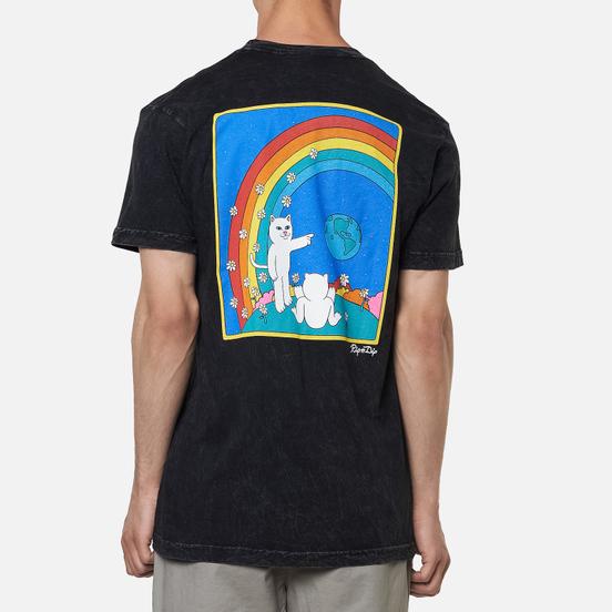 Мужская футболка RIPNDIP Earthgazing Black Mineral Wash
