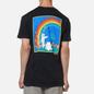 Мужская футболка RIPNDIP Earthgazing Black Mineral Wash фото - 4