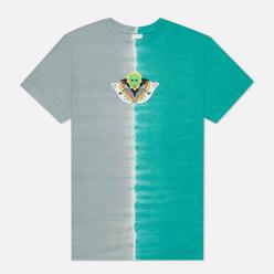 Мужская футболка RIPNDIP Splitting Heads Teal/Grey Split Dye