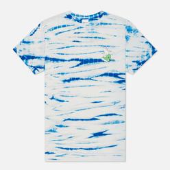 Мужская футболка RIPNDIP Hang 10 Blue/White Stripe Dye