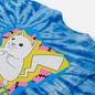 Мужская футболка RIPNDIP Catch Em All Blue Spiral Dye фото - 2