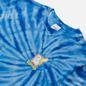 Мужская футболка RIPNDIP Catch Em All Blue Spiral Dye фото - 1