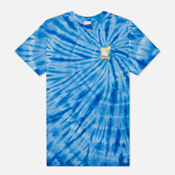 Мужская футболка RIPNDIP Catch Em All Blue Spiral Dye