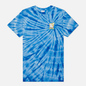 Мужская футболка RIPNDIP Catch Em All Blue Spiral Dye фото - 0