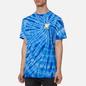 Мужская футболка RIPNDIP Catch Em All Blue Spiral Dye фото - 3