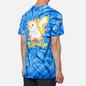 Мужская футболка RIPNDIP Catch Em All Blue Spiral Dye фото - 4
