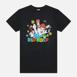 Мужская футболка RIPNDIP Nermio Black Mineral Wash