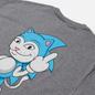 Мужская футболка RIPNDIP Nermhog Heather Grey фото - 2