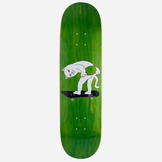 Дека RIPNDIP Moon Grab Board Green