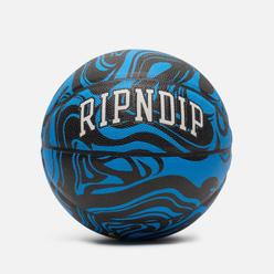 Баскетбольный мяч RIPNDIP Psychedelic Black/Blue