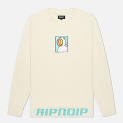 Мужская толстовка RIPNDIP Open Mind Crew Neck Natural