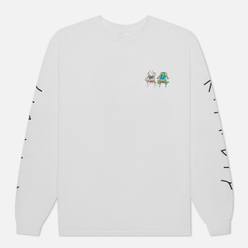 Мужской лонгслив RIPNDIP Butts Up White
