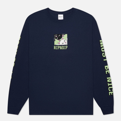 Мужской лонгслив RIPNDIP Besties Navy