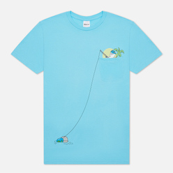Мужская футболка RIPNDIP Foreign Fish Pocket Light Blue