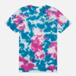 Мужская футболка RIPNDIP Hippe Dippie Pink/Blue Dye