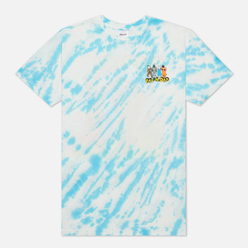 Мужская футболка RIPNDIP No Place Like Home Blue Stripe Tie Dye