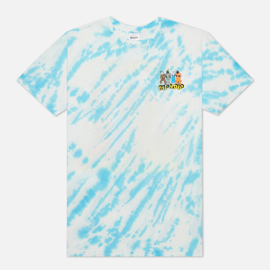 Мужская футболка RIPNDIP No Place Like Home Blue Stripe Tie Dye