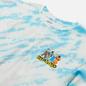 Мужская футболка RIPNDIP No Place Like Home Blue Stripe Tie Dye фото - 1