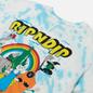 Мужская футболка RIPNDIP No Place Like Home Blue Stripe Tie Dye фото - 2