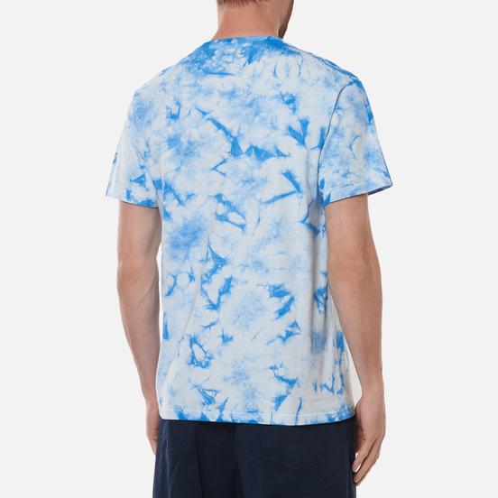 Мужская футболка RIPNDIP Prisma Embroidered Blue Lightning Wash