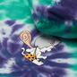 Мужская толстовка RIPNDIP Ripnstone Hoodie Purple/Teal Spiral Tie Dye фото - 2