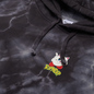 Мужская толстовка RIPNDIP Nermby Hoodie Black Lightning Wash фото - 1
