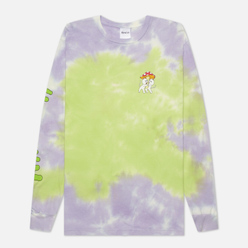 Мужской лонгслив RIPNDIP Sharing Is Caring Neon/Lavender Dye
