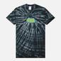 Мужская футболка RIPNDIP Catman Black Spiral Tie Dye фото - 0