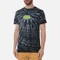 Мужская футболка RIPNDIP Catman Black Spiral Tie Dye фото - 2