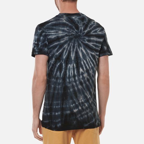Мужская футболка RIPNDIP Catman Black Spiral Tie Dye