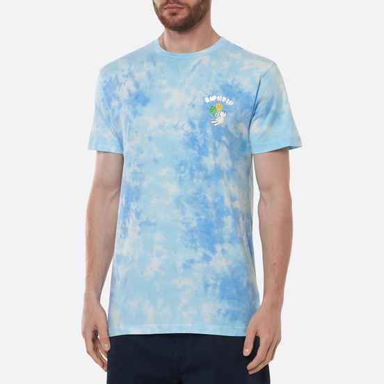 Мужская футболка RIPNDIP Drifting Away Blue Tie Dye