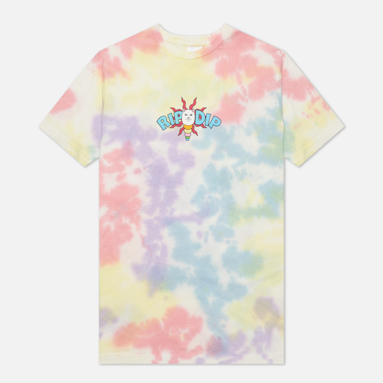 Мужская футболка RIPNDIP Etheral Peach/Lavender Tie Dye