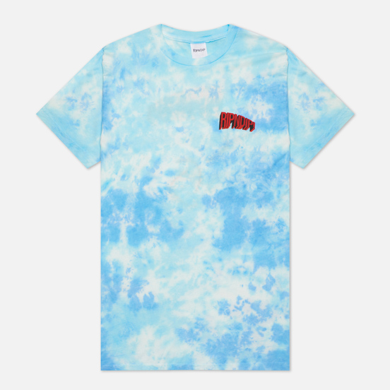 Мужская футболка RIPNDIP Flying High Blue Tie Dye