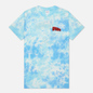 Мужская футболка RIPNDIP Flying High Blue Tie Dye фото - 0