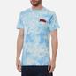 Мужская футболка RIPNDIP Flying High Blue Tie Dye фото - 3