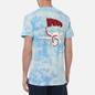 Мужская футболка RIPNDIP Flying High Blue Tie Dye фото - 4