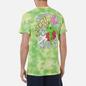 Мужская футболка RIPNDIP Astronomic Green Lightning Wash фото - 4