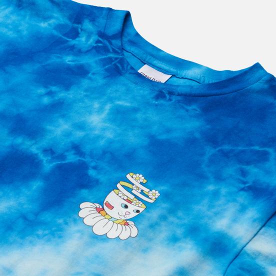 Мужская футболка RIPNDIP Imagine Blue Lightning Wash