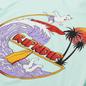 Мужская футболка RIPNDIP Off My Wave Aqua фото - 2