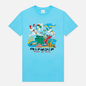 Мужская футболка RIPNDIP Under The Sea Baby Blue фото - 0