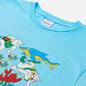 Мужская футболка RIPNDIP Under The Sea Baby Blue фото - 1