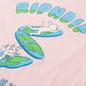 Мужская футболка RIPNDIP The World Is Yours Light Pink фото - 2