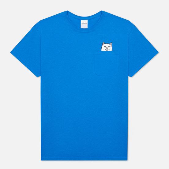 Мужская футболка RIPNDIP Lord Nermal Pocket Royal Blue