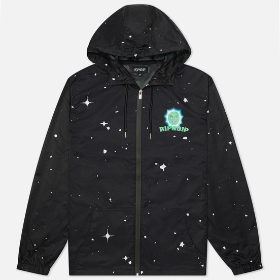 Мужская куртка ветровка RIPNDIP Nebulan Anorak Black